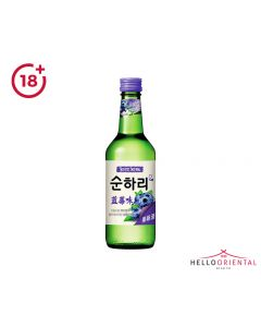 _LOTTE CHUM CHURUM SOJU BLUEBERRY 360ML