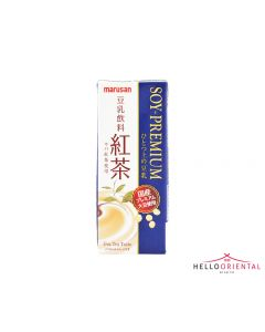 _MARUSANAI BLACK TEA PREMIUM SOY MILK DRINK 200ML 红茶豆奶200毫升