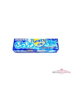 _UHA MIKAKUTO PUCCHO STRONG SODA CHEWY CANDY 46G