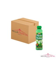 OKF ALOE VERA KING ORIGINAL 500ML (CASE OF 20) 原味芦荟汁500毫升20瓶