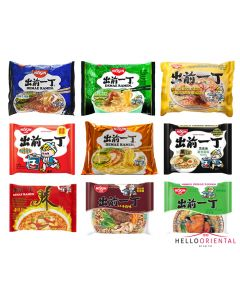 NISSIN INSTANT NOODLES ASSORTED BOX (PACK OF 18)