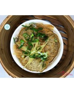 Beef Dumplings With Ginger & Spring Onion (3pcs)