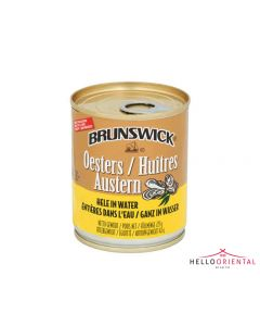 BRUNSWICK OYSTER IN WATER 225G (TIN)