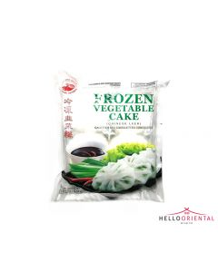 COCK BRAND FROZEN VEGETABLE CAKE 620G 韭菜馃620克