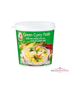 COCK BRAND GREEN CURRY PASTE 400G