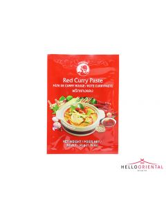 COCK BRAND RED CURRY PASTE 50G