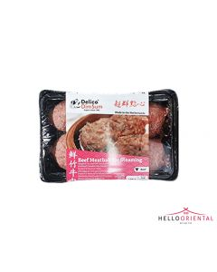 DELICO BEEF MEATBALL FOR STEAMING 420G 鲜竹牛肉420克