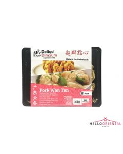 DELICO PORK WAN TAN (SMALL) 156G (PACK) 广东云吞