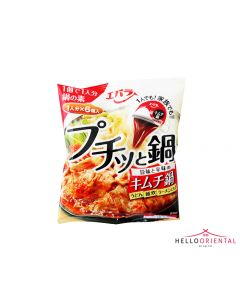 _EBARA FOODS PUCHITTO NABE KIMCHI HOT POT SOUP STOCKS 138ML 泡菜辣酱汤汤底138毫升