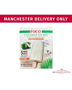 FOCO COCONUT ICE BAR 400G