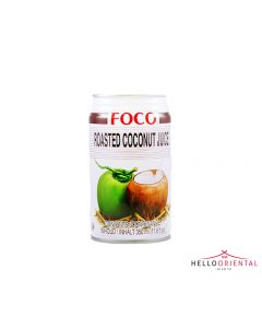 FOCO ROASTED COCONUT JUICE 350ML 椰汁