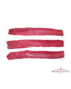 FROZEN SPANISH MUTTON BACKSTRAP (BONELESS LOIN FILLET) 1.2KG
