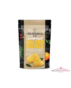 _GOLDEN DUCK SALTED EGG YOLK POTATO RIDGES 125G