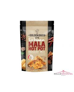 _GOLDEN DUCK SICHUAN MALA HOT POT FRAGRANT MIX 108G