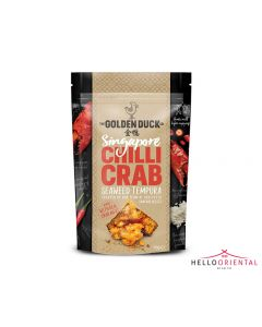 _GOLDEN DUCK SINGAPORE CHILLI CRAB SEAWEED TEMPURA 110G