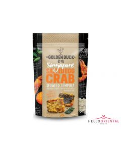 _GOLDEN DUCK SINGAPORE SALTED EGG CRAB SEAWEED TEMPURA 110G