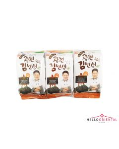 GWANG-CHEON NONGHYUP ROASTED LAVER 4G (PACK OF 3)