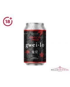 _GWEI LO TROPICAL LAGER 330ML