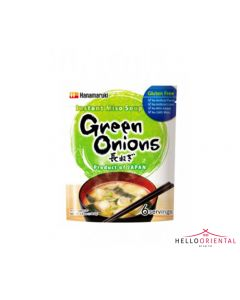 HANAMARUKI INSTANT MISO SOUP GREEN ONION 108.6G 即冲小葱味增汤108.6克