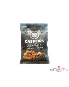 HEERA CASHEWS SEA SALT & BLACK PEPPER 200G