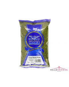 HEERA LARGE MOONG BEANS 2KG 绿豆