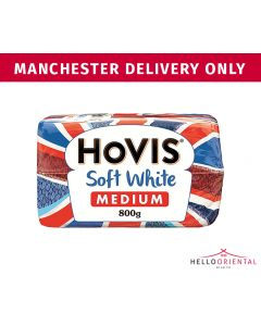 HOVIS MEDIUM WHITE BREAD 800G 中号白面包