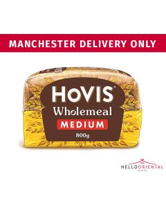 HOVIS MEDIUM WHOLEMEAL BREAD 800G 中号全麦面包