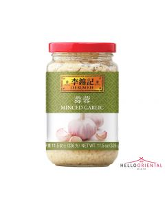 LEE KUM KEE MINCED GARLIC 326G (JAR)
