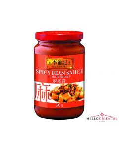 LEE KUM KEE SPICY BEAN MA PO SAUCE 340G (JAR) 李锦记麻婆酱