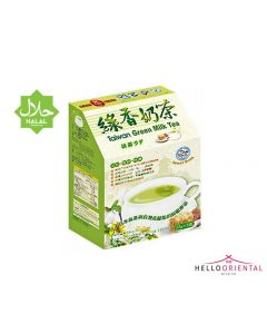 KING KUNG TAIWAN GREEN MILK TEA 110G 台湾绿茶奶茶110克