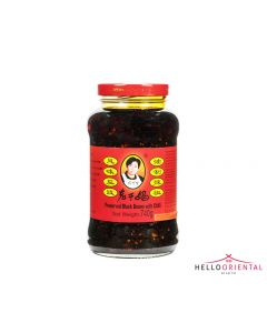 LAOGANMA PRESERVED BLACK BEANS IN CHILLI OIL 740G