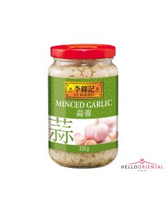 LEE KUM KEE MINCED GARLIC 326G (JAR) 李锦记蒜泥326克