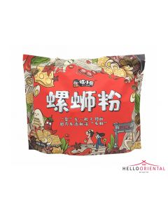LUO XIAO JANG RIVER SNAIL INSTANT RICE NOODLES LUXURIOUS LARGE 400G