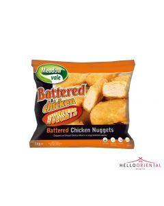 MEADOW VALE BATTERED CHICKEN NUGGETS 1KG