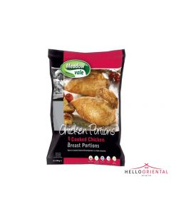 MEADOW VALE CHICKEN PORTIONS 8 COOKED CHICKEN BREAST