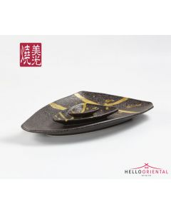 MEIGUANG PORCELAIN E557-P-06012 PLATE 15.5 INCHES