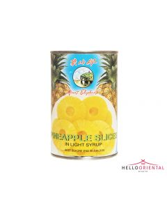 MOUNT ELEPHANT PINEAPPLE SLICES IN LIGHT SYRUP 425G
