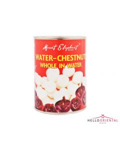 MOUNT ELEPHANT WATER CHESTNUT WHOLE IN WATER 567G