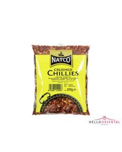 NATCO CRUSHED CHILLIES 200G