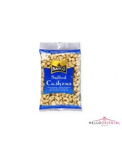 NATCO SALTED CASHEWS 250G