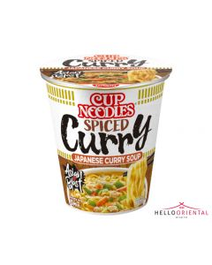 NISSIN CUP NOODLES SPICED CURRY JAPANESE CURRY SOUP (EACH)