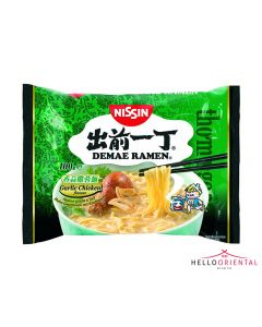 NISSIN INSTANT NOODLES GARLIC CHICKEN (PKT) 出前一丁蒜香鸡肉面
