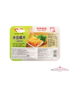 OCTOBER WING FRIED BEAN CURD SHEET 150G