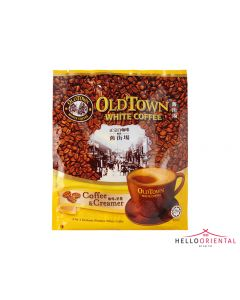 OLD TOWN 2-IN-1 COFFEE & CREAMER INSTANT WHITE COFFEE 25G X 15 二合一即溶白咖啡15包