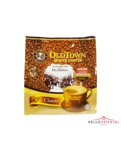 OLD TOWN 3-IN-1 CLASSIC INSTANT WHITE COFFEE 40G X 15 三合一即溶白咖啡15袋