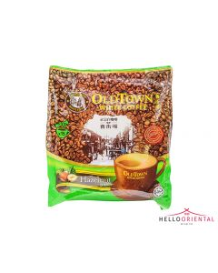 OLD TOWN 3-IN-1 HAZELNUT INSTANT WHITE COFFEE 40G X 15 三合一速溶榛子白咖啡