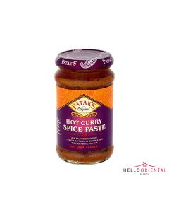 PATAK'S HOT CURRY SPICE PASTE 283G 辣咖喱醬