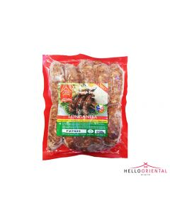 PHIL FOODS LONGANISA SPICY PHILIPPINO PORK SAUSAGE 500G 菲律宾辣猪肉香肠500克