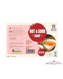 QUAN'S HOT & SOUR SOUP 460G