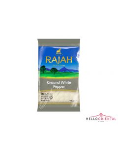 RAJAH GROUND WHITE PEPPER 100G 白胡椒粉